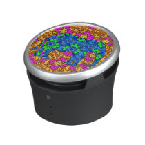 Bright Colorful Paisley Elephant Cute Speaker