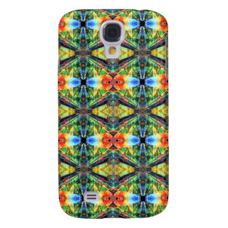 Bright Colorful Pattern Samsung Galaxy S4 Cover
