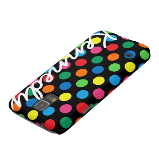 Bright Colorful Polka Dots Galaxy S5 Case