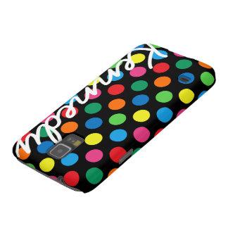 Bright Colorful Polka Dots Galaxy S5 Case