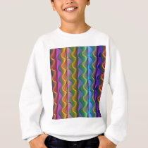 Bright Colorful Psychedelic Pattern Sweatshirt
