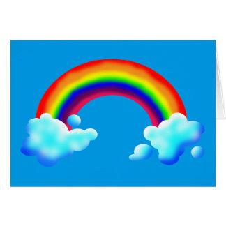 Bright & Colorful Rainbow Card