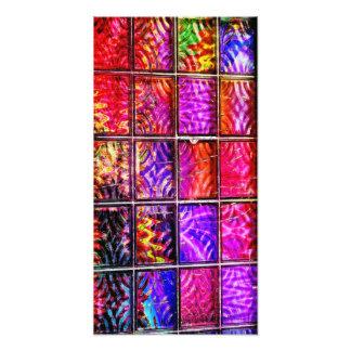 bright colorful squares photo art