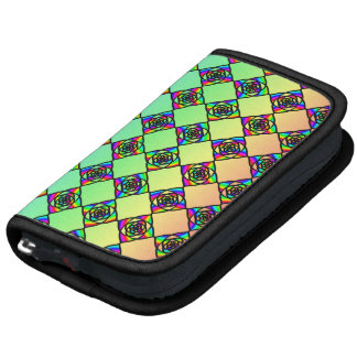 Bright Colorful Stained Glass Style Pattern Planner