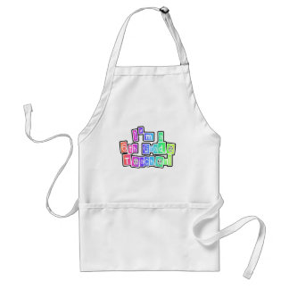 Bright Colors 6th Grade Teacher Tshirts and Gifts Adult Apron