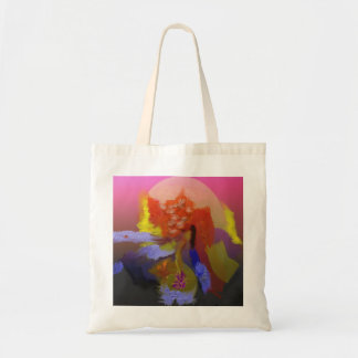 Bright Colors Abstract Tote Bag