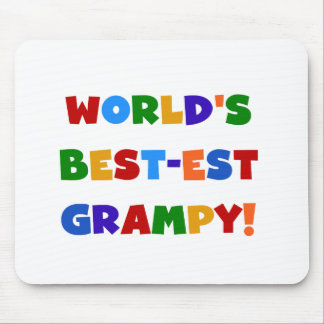 Bright Colors Best-est Grampy T-shirts and Gifts Mouse Pad