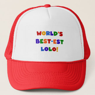 Bright Colors Best-est Lolo T-shirts and Gifts Trucker Hat