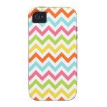 Bright Colors Chevron Zigzag iPhone4 Cover iPhone 4/4S Case