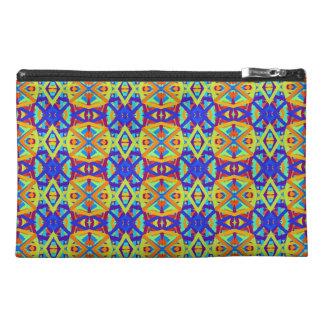 Bright Colors Fun Pattern Travel Accessory Bag