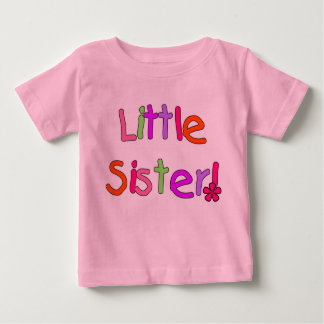 Bright Colors Little Sister Baby T-Shirt