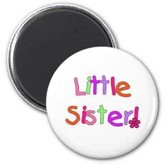 Bright Colors Little Sister Magnet
