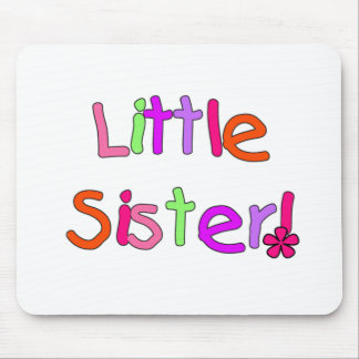 Bright Colors Little Sister Mouse Pad