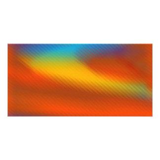 Bright Colors Custom Photo Card