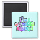 Bright Colors Preschool Teacher Tshirts and Gifts Magnets