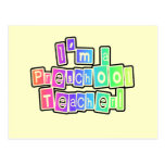 Bright Colors Preschool Teacher Tshirts and Gifts Postcard