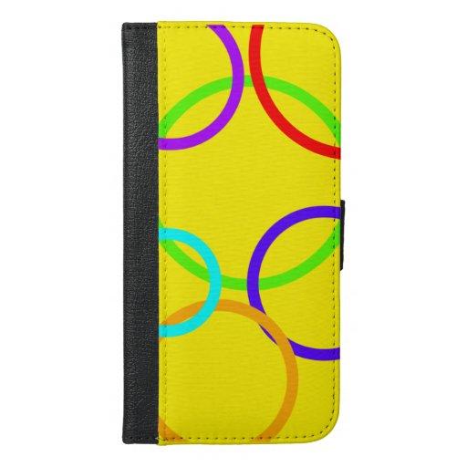 Bright colourful phone case