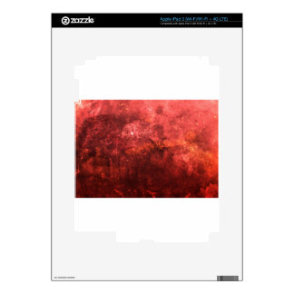 Bright colourful red abstract grunge awesome bg skins for iPad 3