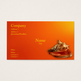 Bright Conch Business Card