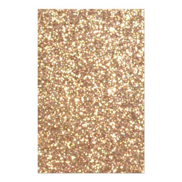 Bright Copper Glitter Sparkles Flyer