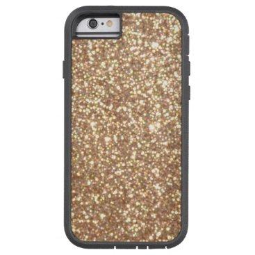 Beach Themed Bright Copper Glitter Sparkles Tough Xtreme iPhone 6 Case
