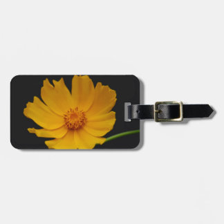 Bright Coreopsis flower Tag For Luggage