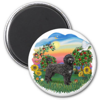 Bright Country - Black Portie 5bw Magnet