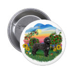 Bright Country - Black Portie 5bw Pins