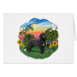 Bright Country - Black Portie (PWD) standing Card