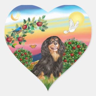 Bright Country - Cavalier (BT-R) Heart Sticker