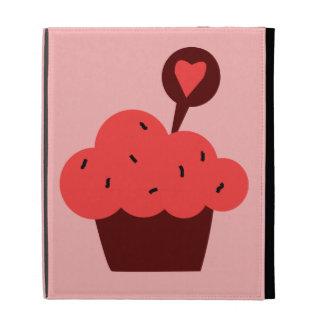 Bright Cupcake iPad Folio Case