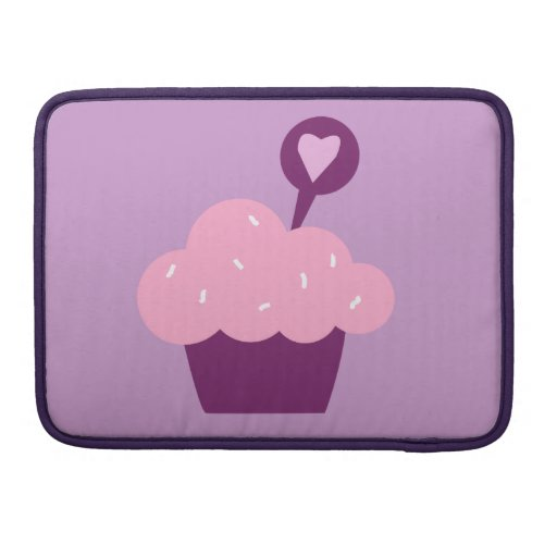 Bright Cupcake Sleeve For MacBooks