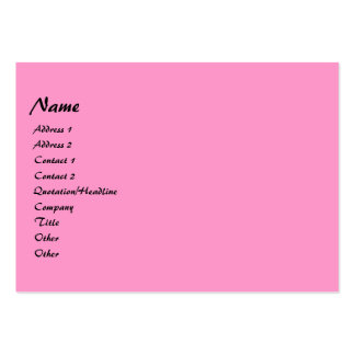 Bright Curls photo frame Business Card