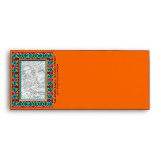 Bright curls photoframe envelopes