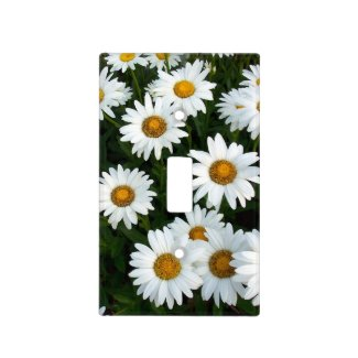 Bright Daisy Light Switch Cover