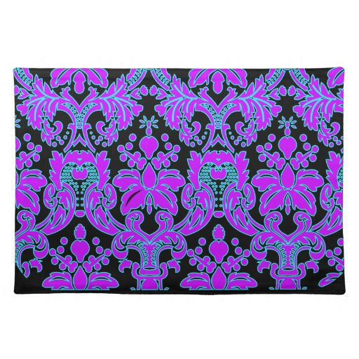 Bright Damask Cloth Placemat