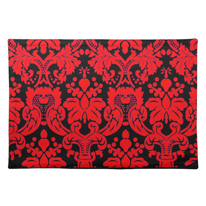 Bright Damask Placemat