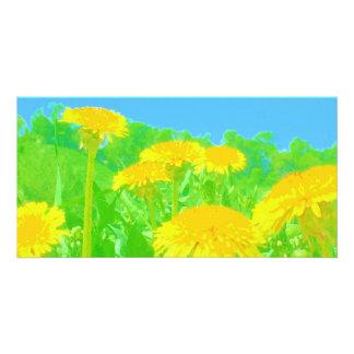 Bright Dandelions Card
