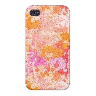 Bright & Dark Splatters iPhone 4 Case