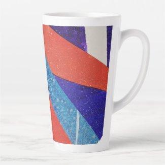 bright day latte mug