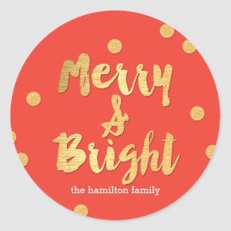 Bright Days Editable Color Holiday Sticker