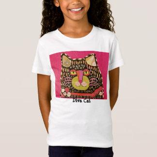 Bright Diva Cat T-Shirt