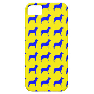 Bright Dog Pattern iPhone SE/5/5s Case