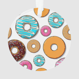 Bright Donut Whimsical Pattern