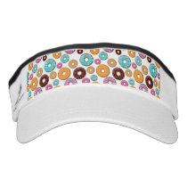 Bright Donut Whimsical Pattern Visor