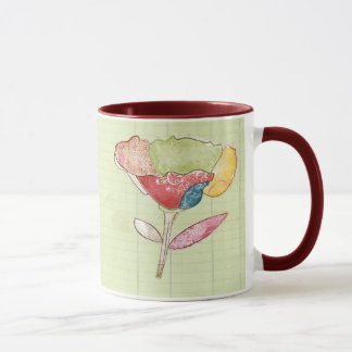 bright doodle flower. Simple and clean, perfect fo Mug