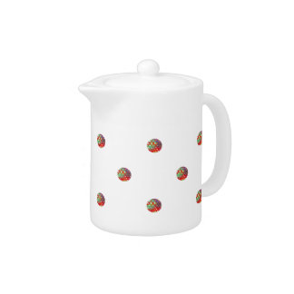 Bright Dots Teapot