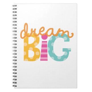 Bright Dream Big Logo Notebook