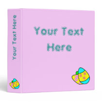 Bright Easter Eggs Binder