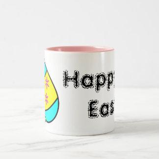 Bright Easter Eggs Happy Easter! Mug
